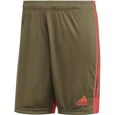 Pantalon scurt Combat The adidas men's Tastigo 19 khaki DP3254 adidas teamwear