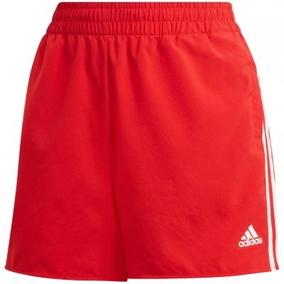 Pantalon scurt Combat adidas Woven 3-Stripes Sport red GN3108