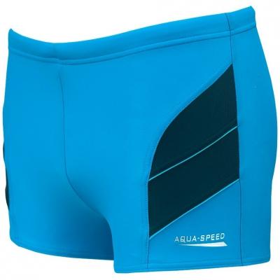 Pantalon scurt Combat BATH AQUA-SPEED ANDY blue-navy 24 349