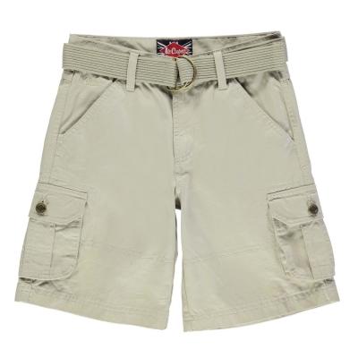 Pantalon scurt Combat Lee Cooper Belted Cargo copil baietel