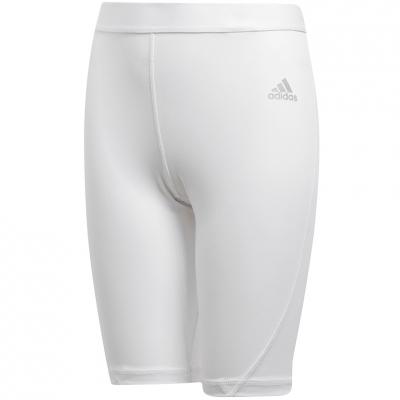 Pantalon scurt Combat 's Adidas Alphaskin Short Tight white CW7351 copil adidas teamwear