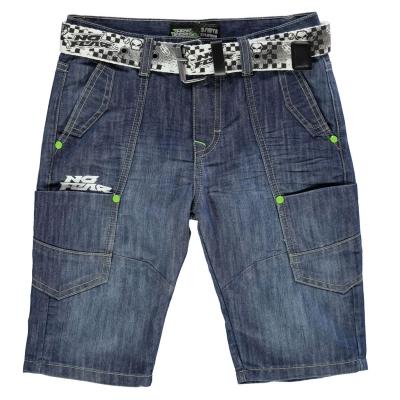 Pantalon scurt Combat No Fear Belted copil baietel
