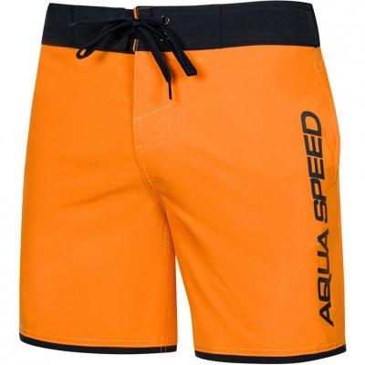 Pantalon inot Men's Aqua-Speed Evan orange black col.75