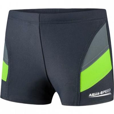 Pantalon inot for Aqua-Speed Andy c.szaro zielone 38 copil