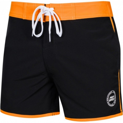 Pantalon inot for men Aqua-Speed Axel black / orange kol.01