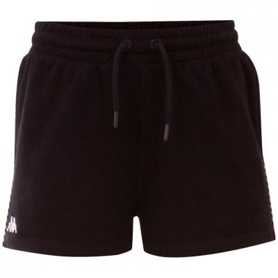 Pantalon scurt Combat for Kappa IRISHA black 309076J 19-4006 copil