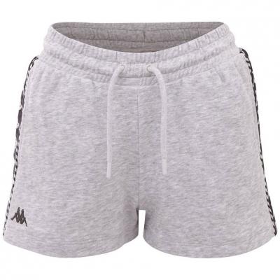 Pantalon scurt Combat 's Kappa IRISHA gray 309076 15-4101M dama