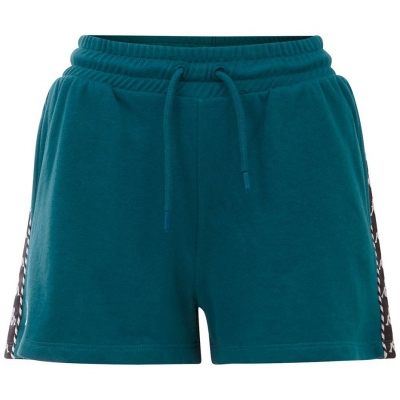 Pantalon scurt Combat 's Kappa IRISHA green 309076 19-4524 dama