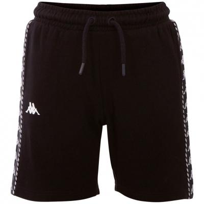 Pantalon scurt Combat Kappa ITALO 's black 309013J 19-4006 copil