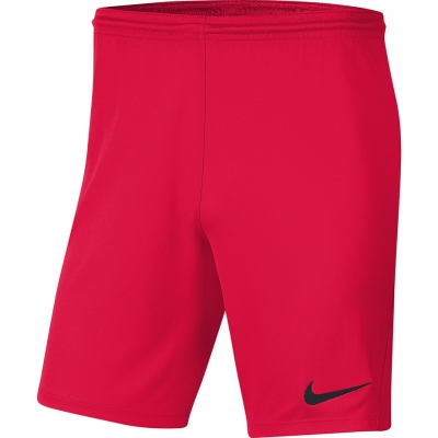 Pantalon scurt Combat Nike Dry Park III NB K 's Bright Red BV6865 635 copil