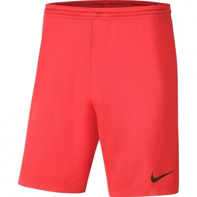 Pantalon scurt Combat Nike Dry Park III NB K Coral BV6855 635