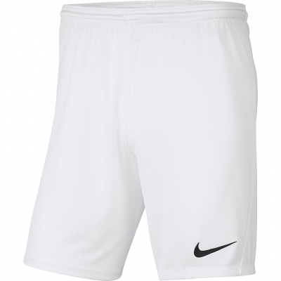 Pantalon scurt Combat Nike Dry Park III NB K for white BV6865 100 copil