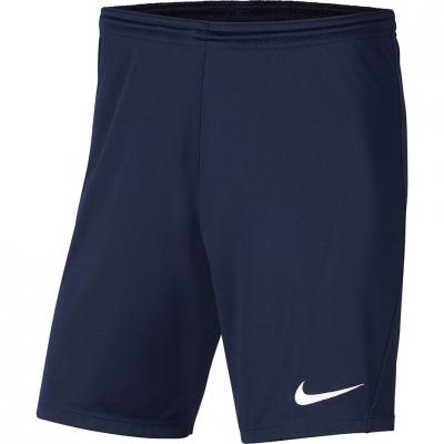 Pantalon scurt Combat Nike Dry Park III NB K for navy blue BV6865 410 copil