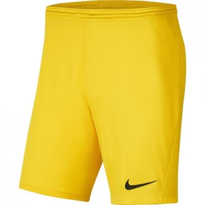 Pantalon scurt Combat Nike Dry Park III NB K Yellow Men's BV6855 719