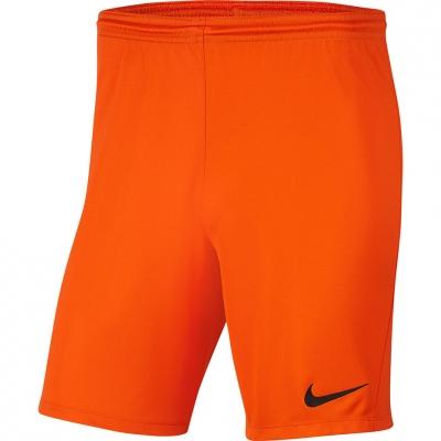 Pantalon scurt Combat Nike Dry Park III NB K Orange Men's BV6855 819