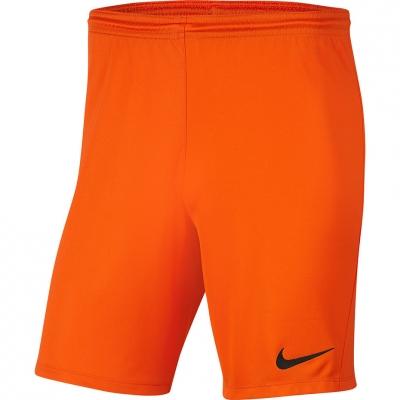 Pantalon scurt Combat Nike Dry Park III NB K Orange 's BV6865 819 copil
