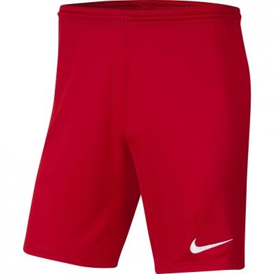 Pantalon scurt Combat Nike Dry Park III NB K Red BV6855 657