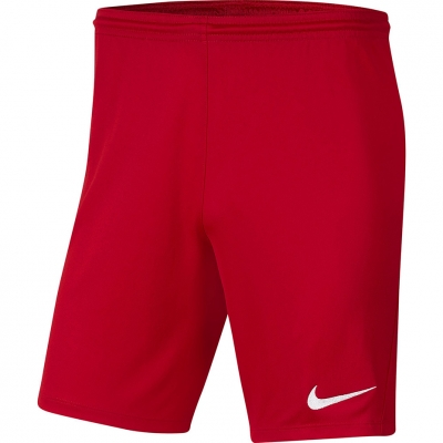 Pantalon scurt Combat Nike Dry Park III NB K Red BV6865 657