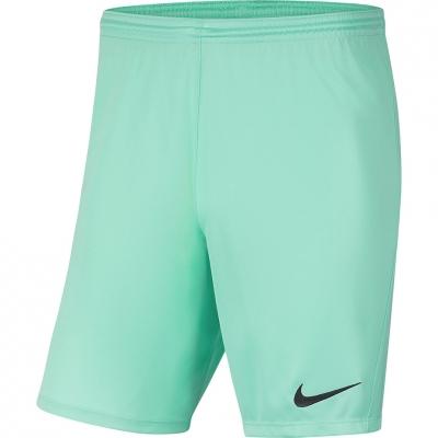 Pantalon scurt Combat Nike Dry Park III NB K Turquoise 's BV6865 354 copil