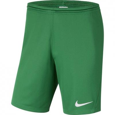 Pantalon scurt Combat Nike Dry Park III NB K 's Green BV6865 302 copil