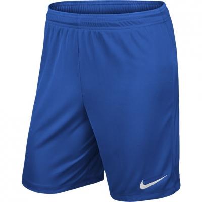 Pantalon scurt Combat NIKE PARK II KNIT SHORT NB JR blue 725988 463