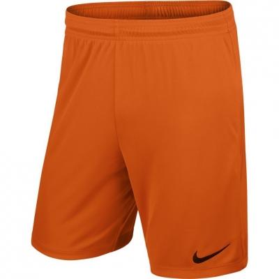 Pantalon scurt Combat NIKE PARK II KNIT SHORT NB JR orange 725988 815