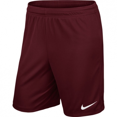 Pantalon scurt Combat Nike Park II Knit Short NB burgundy 725988 677 copil