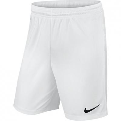 Pantalon scurt Combat NIKE PARK II KNIT SHORT NB JR white / 725988 100