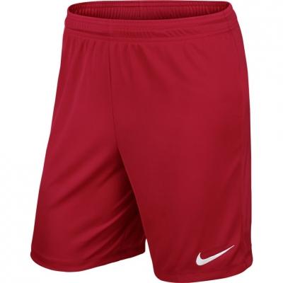 Pantalon scurt Combat NIKE PARK II KNIT SHORT NB red / 725887 657