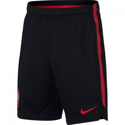 Pantalon scurt Combat Nike Pol Dry Sqd Short KZ 893825 010 copil
