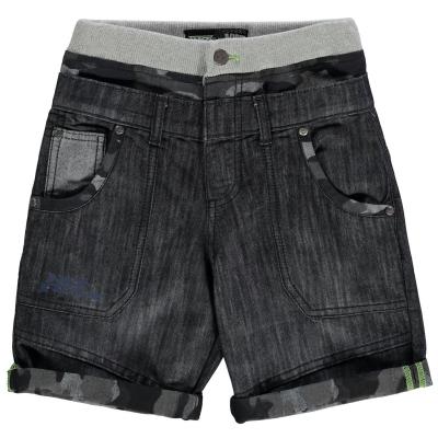 Pantalon scurt Combat No Fear Double Waisted copil baietel