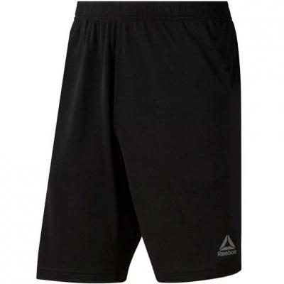 Pantalon scurt Combat Men's Reebok TE Jersey Short black D94207