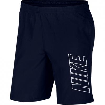 Pantalon scurt Combat the Nike Academy Short M Dry WP dark blue AR7656 451 barbat