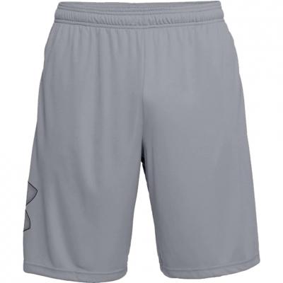 Pantalon scurt Combat Men's Under Armor Tech Graphic gray 1306443 035 Under Armour
