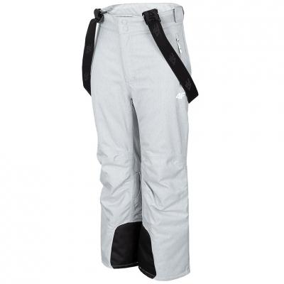Pantalon Ski ' 4F cool light gray HJZ20 JSPDN001 27M fetita