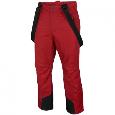 Pantalon Ski Men's 4F dark red H4Z20 SPMN001 61S