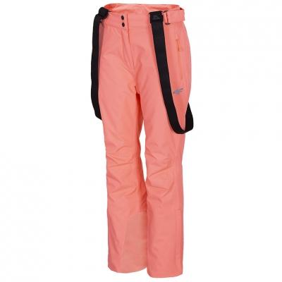 Pantalon Ski 's 4F Neon Salmon H4Z20 SPDN001 64N dama