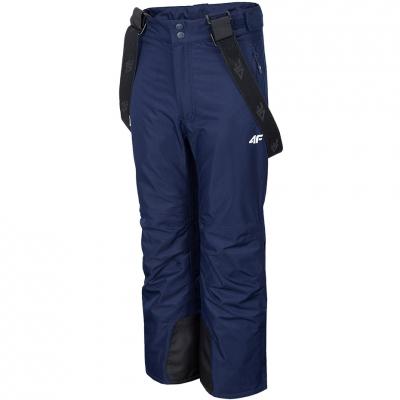 Pantalon Ski for 4F navy blue HJZ20 JSPDN001A 31S fetita