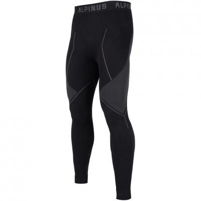 Pantalon Men's Thermoactive Alpinus Tactical Base Layer black and gray GT43224