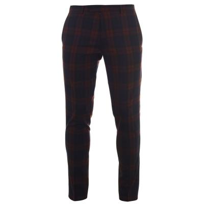Pantalon Combat Twisted Tailor Twisted Ginger Tartan Suit barbat