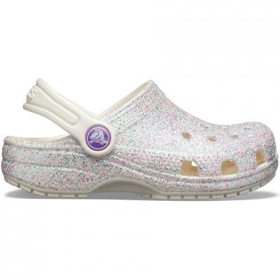 Crocs for Classic Glitter Clog colorful 205441 159 copil