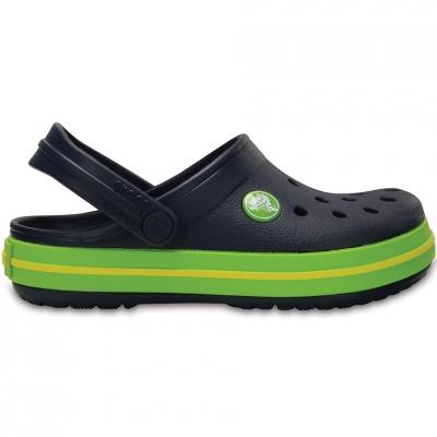 Crocs for Crocband Clog K navy blue- green 204537 4K6 copil