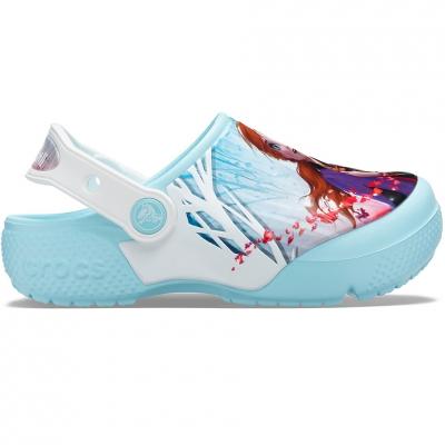 Crocs for Fl Ol Disney Frozen 2 Clog blue 206167 4O9 copil