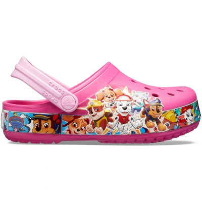 Crocs for Fl Paw Patrol Band Clog pink 205509 670 copil copil