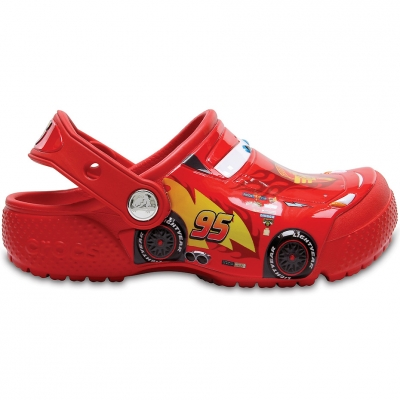Crocs for Fun Lab Cars Clog red 204116 8C1 copil