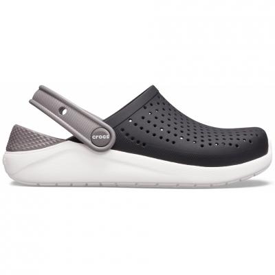 Crocs for LiteRide Clog black-and-white 205964 066 copil