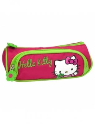 Penar Scoala, Neechipat, Dublu(2 Compartimente), Fete, Hello Kitty