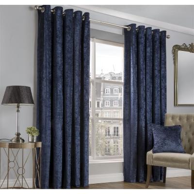 CASA Crushed Velvet Curtains
