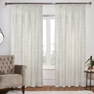 Linens and Lace Jacquard Curtains