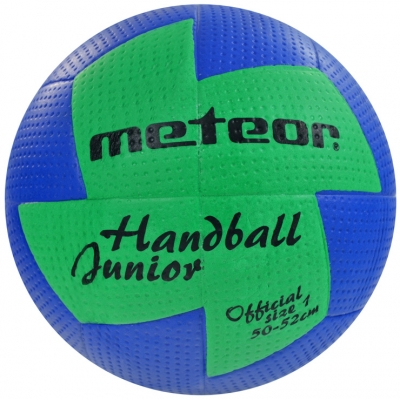 HAND BALL METEOR NU AGE 1 blue / green 4064 copil